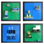 Easy & Adjustable LEGO Display Shelves