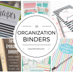 10 Ways To Organize With Binders