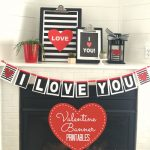 Free I Love You Valentine's Banner Printable