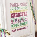 Free Mardi Gras Subway Art Printable