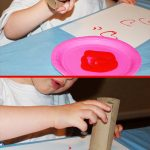 MOM Tip: TP Roll Heart Stamp
