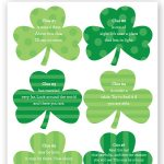 Free St. Patrick's Day Treasure Hunt Printable