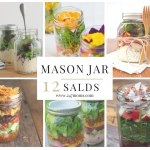 12 Scrumptious Salads in Mason Jars