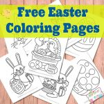 Free Easter Coloring Page Printables