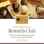 Join Godiva's Rewards Club To Get Free Chocolate
