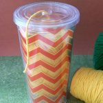 MOM Tip: Cup Yarn Container