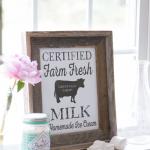 Free Farm Fresh Milk Vintage Printable
