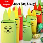 Free Easter Bunny Juice Box Printable