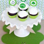 Free St. Patrick's Day Cupcake Topper Printables