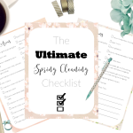 Free Ultimate Spring Cleaning Checklist Printables