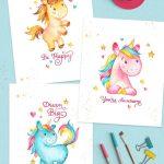 Free Unicorn Picture Printables