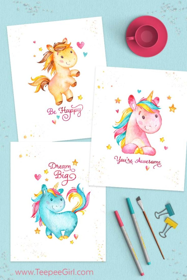 Sassy image intended for free printable unicorn