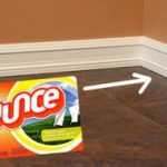 MOM Tip: Keep Baseboards Cleaner With Fabric Softner