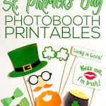 FREE St. Patrick's Day Photo Booth Prop Printables