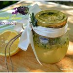 Homemade Lemon And Lavender Hand Scrub