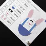 Free Roll-A-Bunny Game Printable