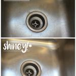 MOM Tip: DIY Kitchen Sink Scrub