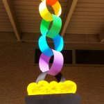 MOM Tip: Rainbow Chain Craft For St. Patrick's Day