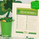 Free 20 Fun Ways to Celebrate St. Patrick's Day Printable