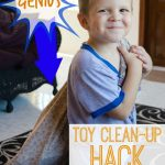 MOM Tip: Toy Clean Up