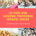 10 Fun Kid Loving Popcorn Snack Ideas