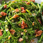 Delicious Sautéed Broccolini with Bacon