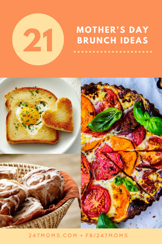 21 Mothers Day Brunch Ideas - 24/7 Moms