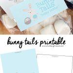 Free Bunny Tails Printable