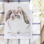 Free Watercolor Bunny Printable