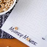 Free Mickey Mouse Mealtime Activity Placemat Printable