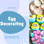 One Dozen Egg Decorating Ideas for the Kids