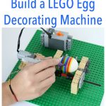 MOM Tip: How To Build an Awesome Lego Egg Decorating Machine