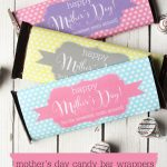 Free Mother's Day Candy Bar Wrapper Printables