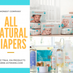 Try These All-Natural Diapers from Honest Comapny