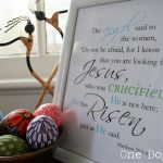 Free He Has Risen Printable