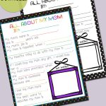 Free All About Mom Printable