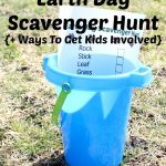 Free Earth Day Scavenger Hunt Printable