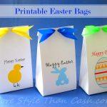 Free Easter Bag Printable