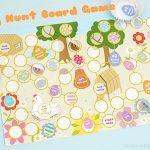 Free Easter Egg Hunt Board Game Printable