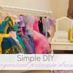 MOM Tip: Organized Princess Dresses