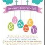 Free Christian Easter Story Egg Poem Printable