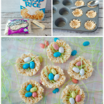 MOM Tip: Rice Krispie Nests (Easter Treats)