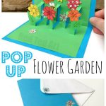 MOM Tip: DIY 3D Flower Card for Kids to Make for Mom
