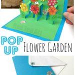 MOM Tip: DIY 3D Flower Card for Kids to Make for Mom
