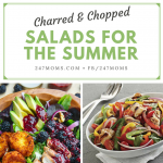 Charred and Chopped Salads for the Summer