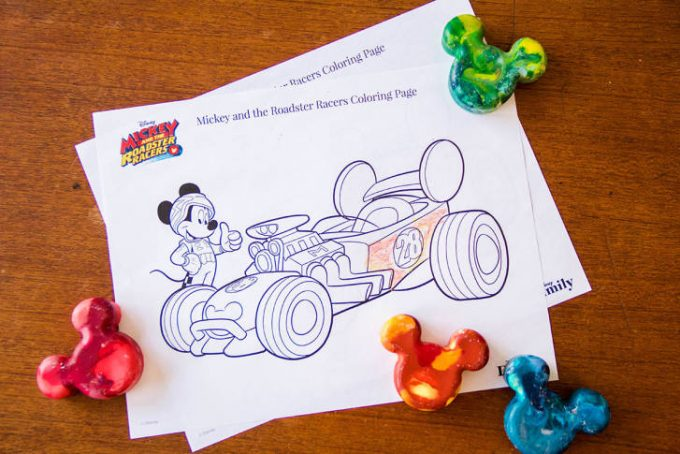 Free Mickey And The Roadster Racers