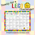 Free 30-Day LEGO Challenge Printable