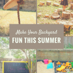 Make Your Backyard Fun This Summer