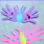 MOM Tip: Butterfly Handprint Card
