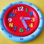 MOM Tip: DIY 5 Minute Interval Paper Plate Clock